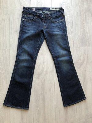 Tommy Hilfiger Denim Boot Cut Jeans dark blue cotton