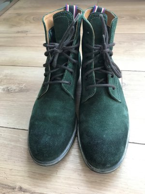 Tommy Hilfiger Ankle Boots forest green leather