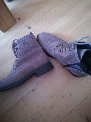 Tommy Hilfiger Botas de tobillo color bronce