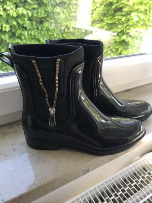 Tommy Hilfiger Low boot noir-doré