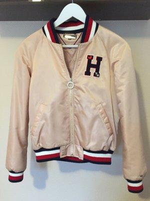 Tommy Hilfiger Bridget Varsity Jacket - Rose Smoke