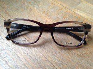 Tommy Hilfiger Brille Brillengestell TH 1204 88A black camel Neu