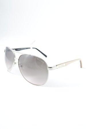 Tommy Hilfiger Brille bronzefarben-creme Street-Fashion-Look