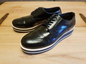 Tommy Hilfiger Budapest schoenen zwart-wolwit