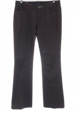 Tommy Hilfiger Bundfaltenhose braun Business-Look
