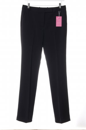 Tommy Hilfiger Pleated Trousers dark blue business style