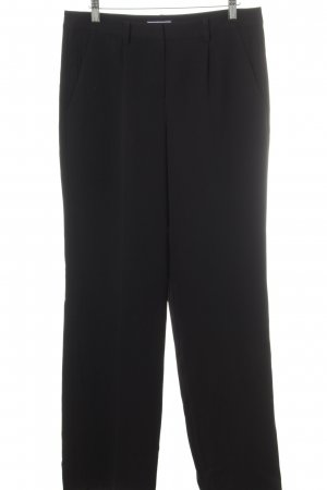 Tommy Hilfiger Bundfaltenhose schwarz Business-Look