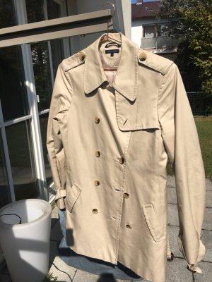 Tommy Hilfiger (Burberry Stil) Trenchcoat, Mantel in beige, Gr. M
