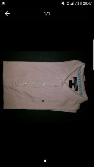 Tommy Hilfiger Polo Shirt light pink cotton