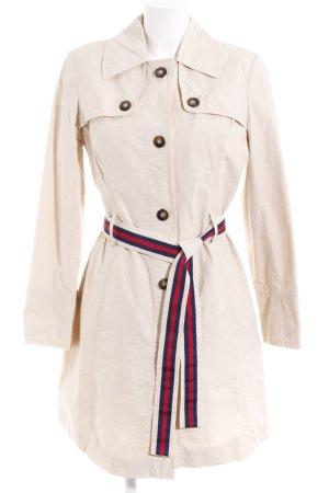 Tommy Hilfiger Heavy Pea Coat beige dandy style