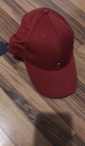 Tommy Hilfiger Casquette de baseball bordeau-rouge carmin