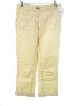 Tommy Hilfiger Pantalone Capri giallo pallido stile spiaggia