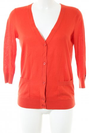 Tommy Hilfiger Cardigan rot Casual-Look