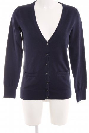 Tommy Hilfiger Cardigan donkerblauw casual uitstraling
