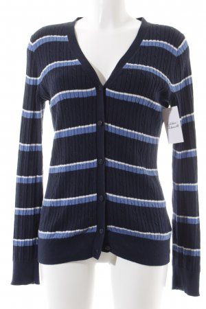 Tommy Hilfiger Cardigan Streifenmuster Casual-Look