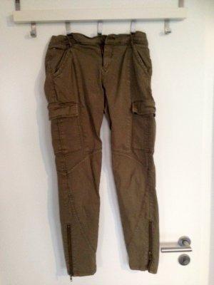 TOMMY HILFIGER  Cargopants  skinny Jeans in khaki Hose Gr M