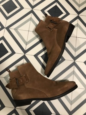 Hilfiger Denim Chelsea Boots brown leather