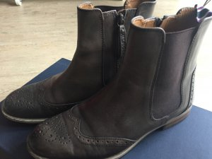Tommy Hilfiger Chelsea Boots Budapester Braun 38