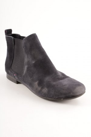 Tommy Hilfiger Chelsea Boots dunkelblau Casual-Look