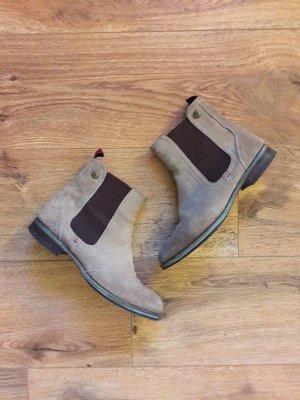 Tommy Hilfiger Chelsea Boots Stiefeletten braun Gr. 37