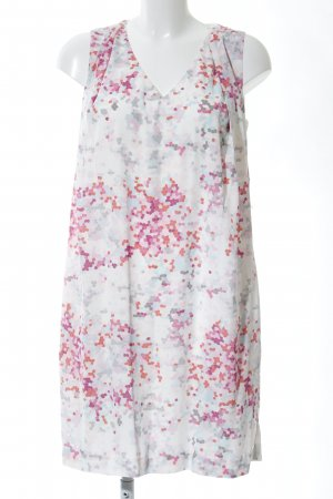 Tommy Hilfiger Chiffon jurk abstract patroon zakelijke stijl
