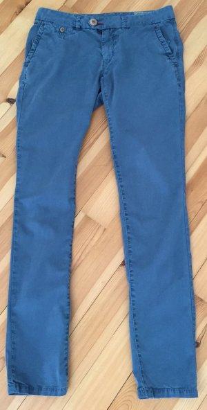 Tommy Hilfiger Chino blau used look Gr. 27/32