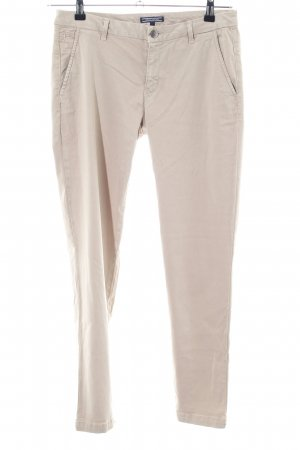 Tommy Hilfiger Chinohose creme Business-Look