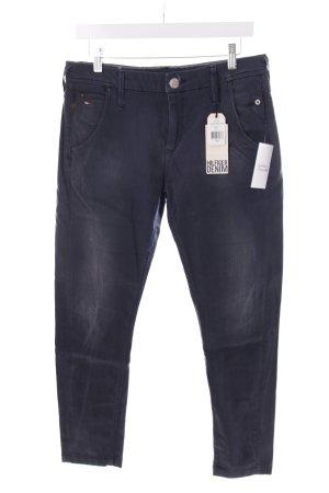 Tommy Hilfiger Chinohose dunkelblau Jeans-Optik