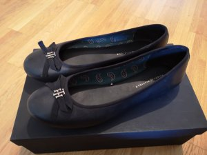 Tommy Hilfiger Ballerines Mary Jane noir cuir