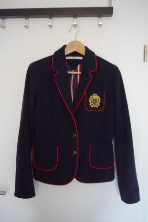 Tommy Hilfiger Wool Blazer dark blue-red
