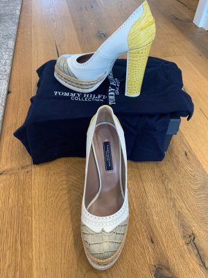 Tommy Hilfiger Collection Leder Pumps 38, neu