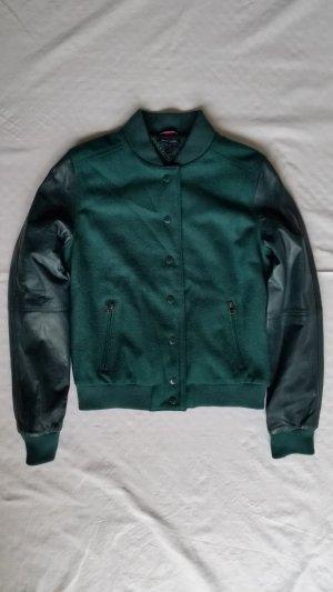 Tommy Hilfiger College Jacket petrol mixture fibre