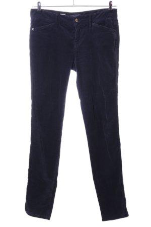 "Tommy Hilfiger Pantalone di velluto a coste ""Venice LW Skinny Fit"" blu"