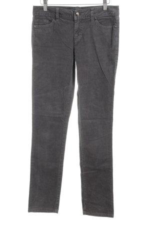 Tommy Hilfiger Pantalón de pana gris claro look casual