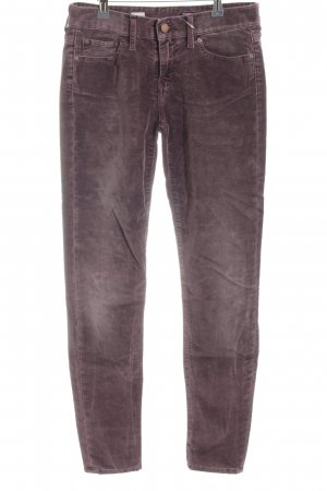 Tommy Hilfiger Corduroy Trousers lilac casual look