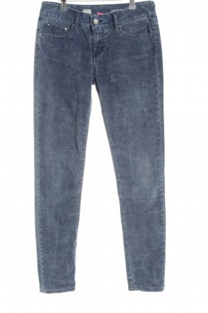 Tommy Hilfiger Pantalón de pana azul look casual