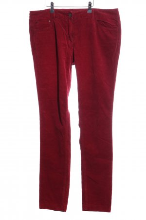 Tommy Hilfiger Corduroy Trousers red casual look