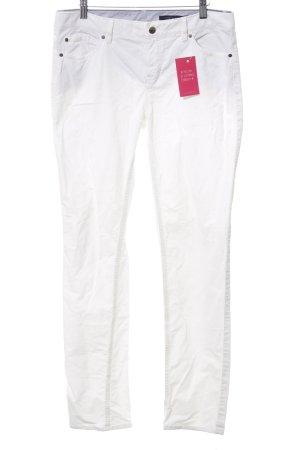 Tommy Hilfiger Pantalón de pana blanco look casual