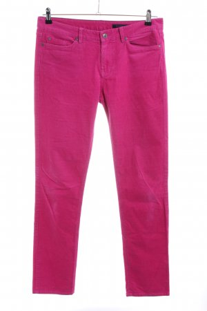 Tommy Hilfiger Pantalón de pana rosa look casual