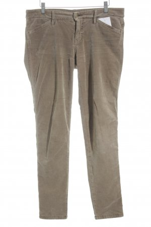 Tommy Hilfiger Corduroy Trousers beige simple style