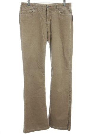 Tommy Hilfiger Pantalone di velluto a coste color cammello Stile Boho