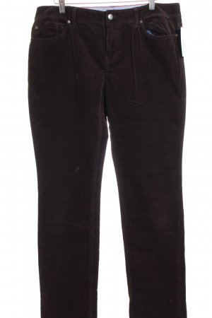 Tommy Hilfiger Cordhose dunkelbraun Casual-Look