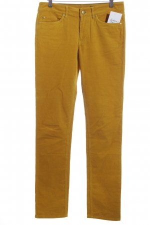Tommy Hilfiger Cordhose dunkelgelb Casual-Look