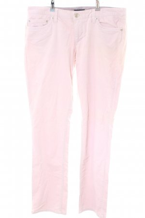 Tommy Hilfiger Pantalone di velluto a coste rosa stile casual