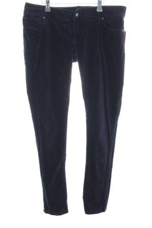 Tommy Hilfiger Pantalone di velluto a coste blu stile casual