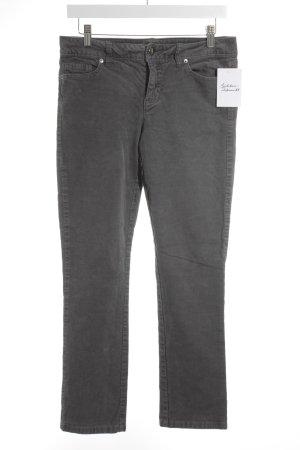 Tommy Hilfiger Pantalone di velluto a coste grigio stile casual