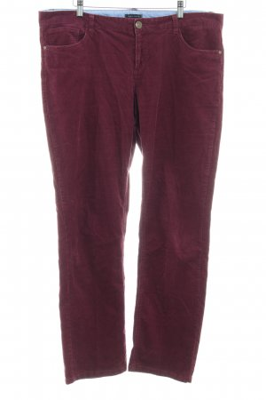 Tommy Hilfiger Corduroy Trousers purple casual look