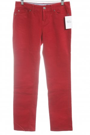 Tommy Hilfiger Cordhose rot Casual-Look