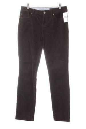 Tommy Hilfiger Cordhose schwarzbraun-dunkelbraun schlichter Stil