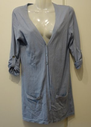 Tommy Hilfiger Cotton Cashmere Cardigan Strickjacke Gr. S himmelblau Clean Chic